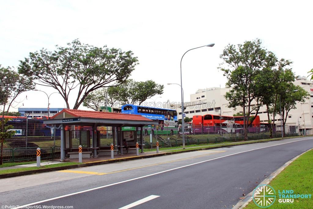 Ang Mo Kio Depot - View from Ang Mo Kio Street 62