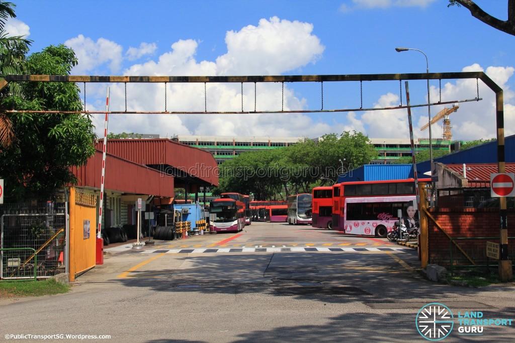 Ang Mo Kio Depot - Vehicular Exit