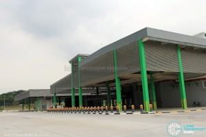 Rear entrance of Bulim Depot