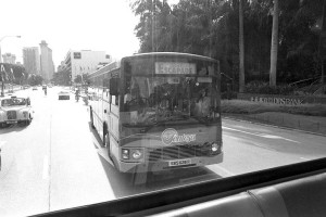 Volvo B10M MkIII on a Sentosa Bus Service at launch