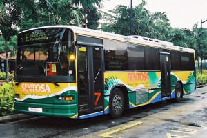 """SBS Leisure Volvo B10M MkIV """"Soon Chow"""" (SH966X) - Sentosa Route E"""