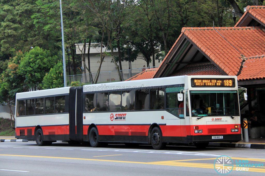 SMRT Mercedes-Benz O405G Hispano MkI (TIB860S) - Service 189 (Gorba imotion)