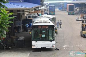 MAN NG363F (A24) undergoing assembly at Gemilang Coachworks