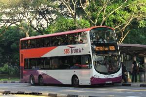 SBS Transit Volvo B9TL Wright (SBS7703K) - Service 183B