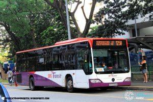 Service 125A - SBS Transit Mercedes-Benz Citaro (SBS6060M)