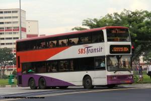 SBST Dennis Trident (SBS9681B) - Service 80A
