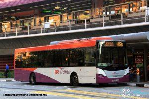 Service 145A - SBS Transit Scania K230UB (SBS8726M)