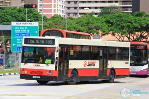 SMRT (Retired) Mercedes-Benz O405 (TIB525K) - Training Bus