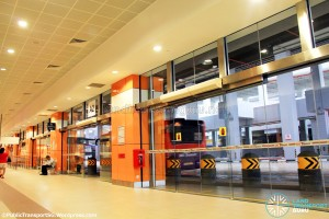 Joo Koon Bus Interchange - Alighting berths