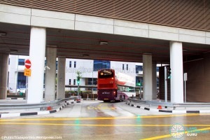 Joo Koon Bus Interchange - Exit to Joo Koon Circle