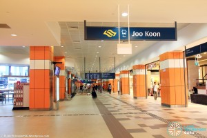 Joo Koon Bus Interchange - Concourse