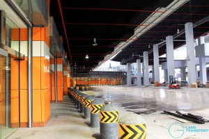 Joo Koon Bus Interchange Pre-launch: Bus Park