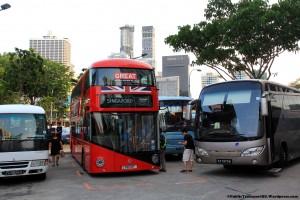 NBfL (LT3) - Parked among tour buses at Banda Street