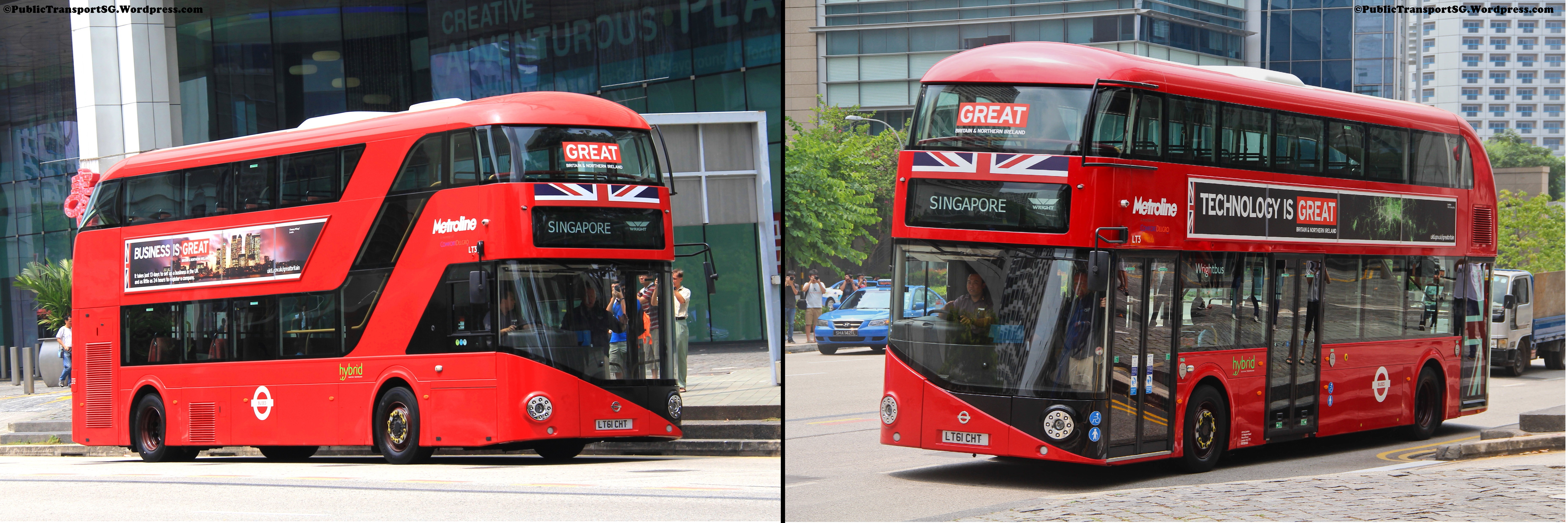 New Bus for London visits Singapore