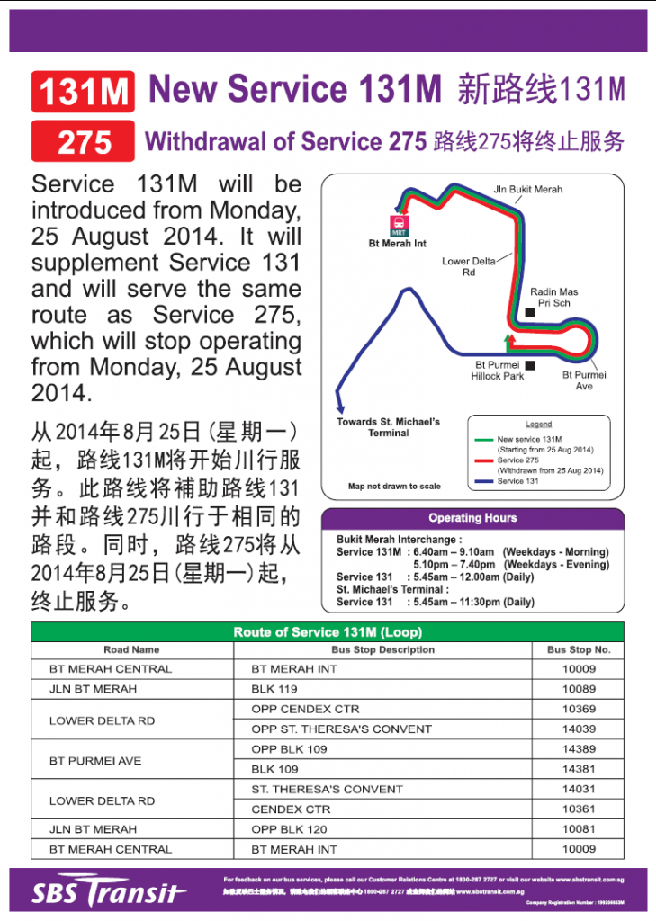 Service 131M Release Poster