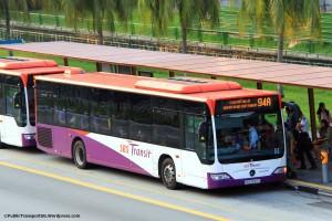 SBST Mercedes-Benz Citaro (SBS6687E) - Service 94A