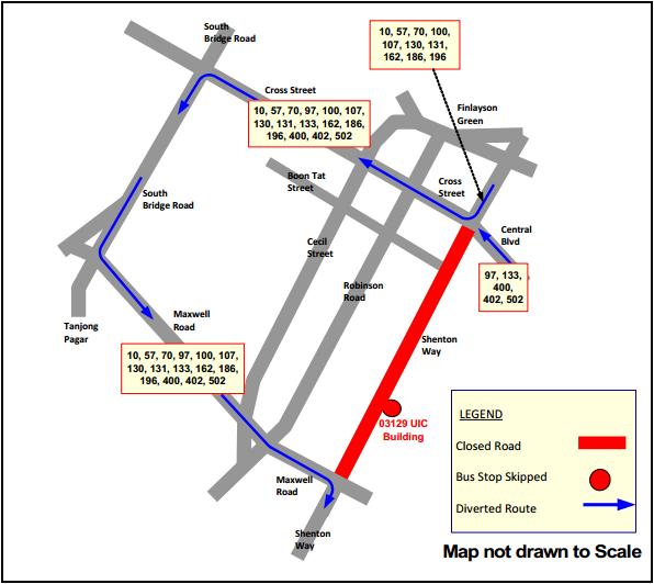 SBST Route Diagram