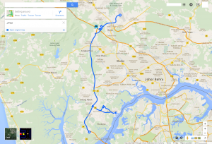 Route JPO2 at a glance
