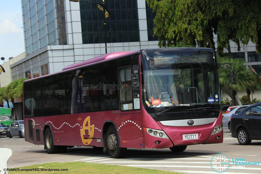 Advance Coach Yutong ZK6118HGA (PC177T) - Service AC7