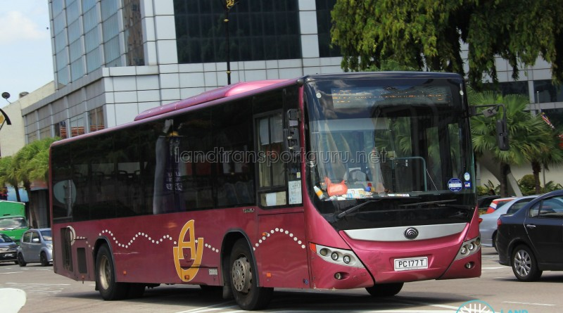 Advance Coach Yutong ZK6118HGA (PC177T) - Service AC7