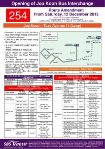 SBS Transit Bus Service 254 | Land Transport Guru