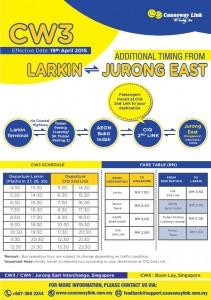 CW3 Larkin Branch - Poster