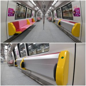 C151C - Foldable seats