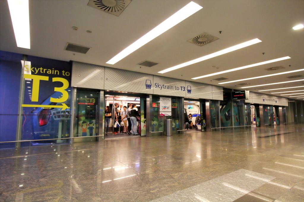 Changi Airport Skytrain - Public Area - Station C (Terminal 1)