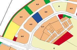 Samudera LRT Station - 2014 URA Masterplan showing planned developments in the vicinity