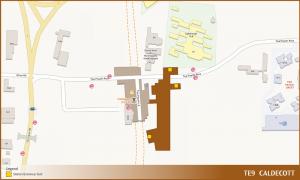 Caldecott TEL Station Diagram