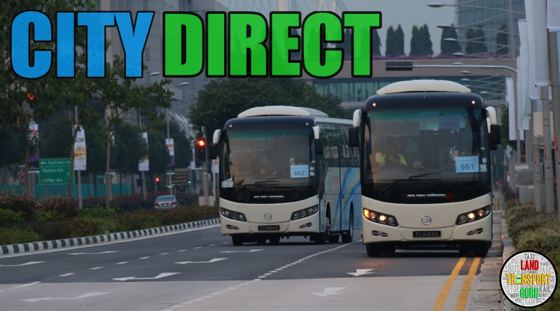 Transfer of Operators for City Direct services
