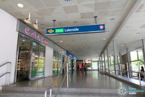Lakeside MRT Station - Exit A