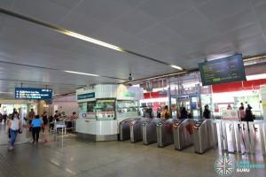 Lakeside MRT Station - Passenger Service Centre & Faregates