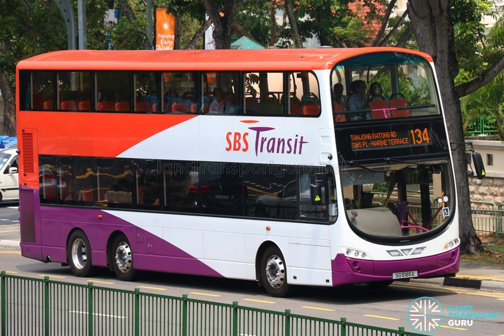Service 134 is one of 23 bus services under the Serangoon–Eunos Bus Package