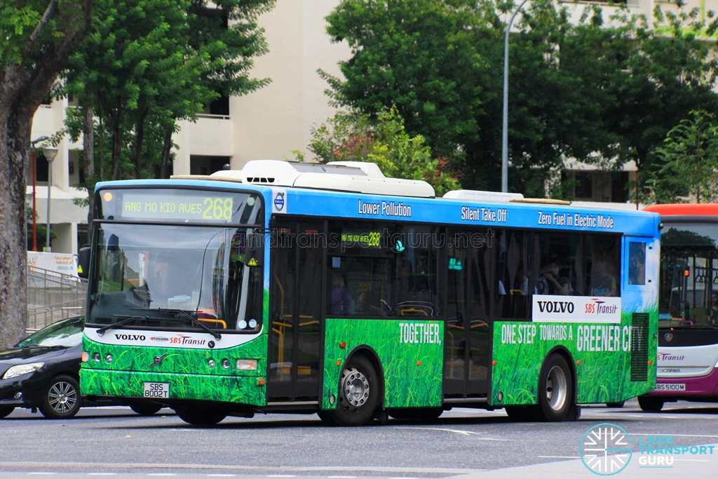 SBS Transit Volvo B5RLE Hybrid