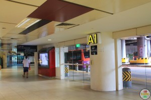 Clementi Bus Interchange - Alighting Berth A1
