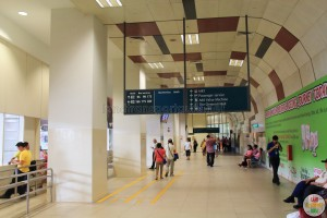 Clementi Bus Interchange - Concourse near Berth B2