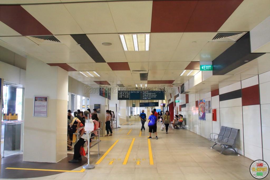 Clementi Bus Interchange - Concourse near Berth B4