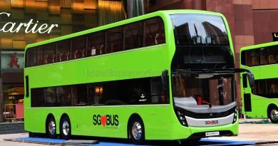 Alexander Dennis Enviro500 Mock-up Bus