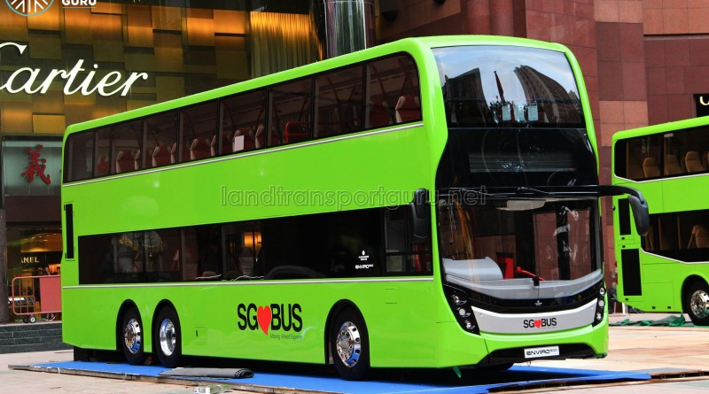 Alexander Dennis Enviro500 Mock-up Bus