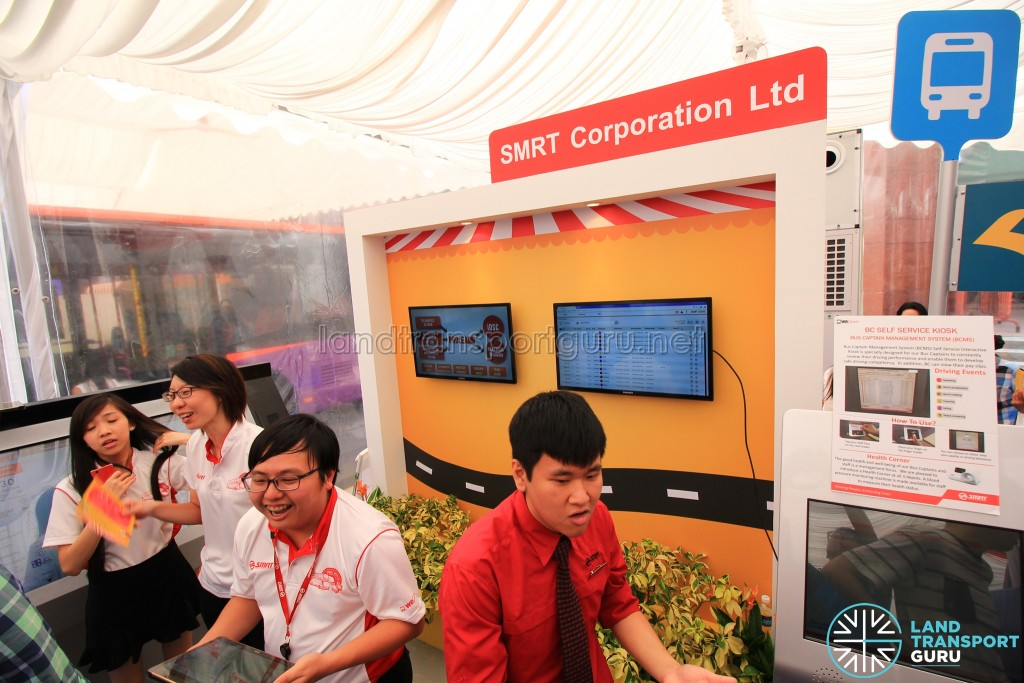 LTA Our Bus Journey Carnival - Ngee Ann City - SMRT Corporation booth