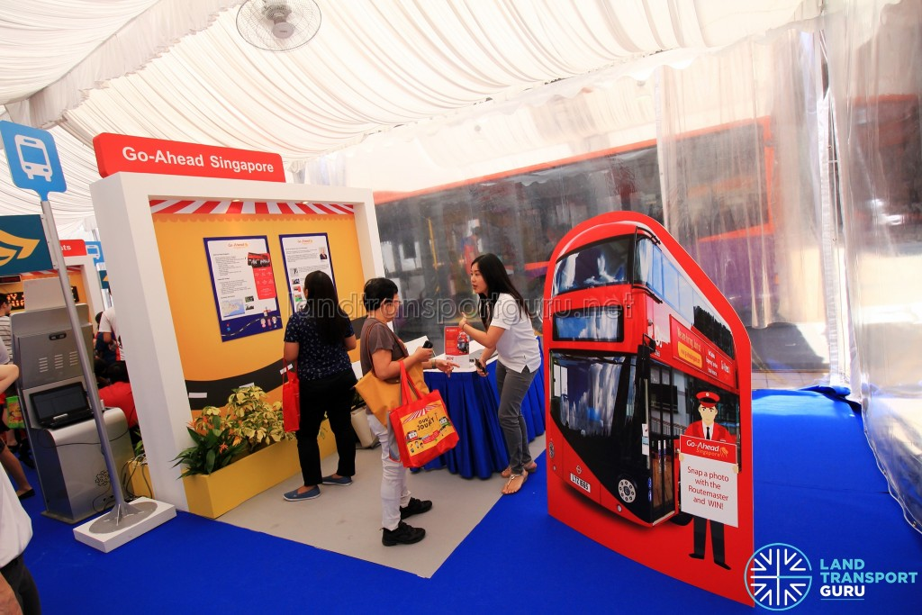 LTA Our Bus Journey Carnival - Ngee Ann City - Go-Ahead booth
