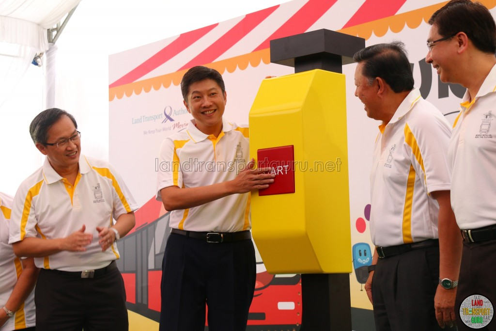 LTA Our Bus Journey Carnival - Ngee Ann City - Minister Ng Chee Meng launching the bus carnival