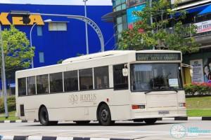 Bus-Plus Dennis Lance (PA2022D) - Tampines Retail Park Shuttle (Tampines Route)