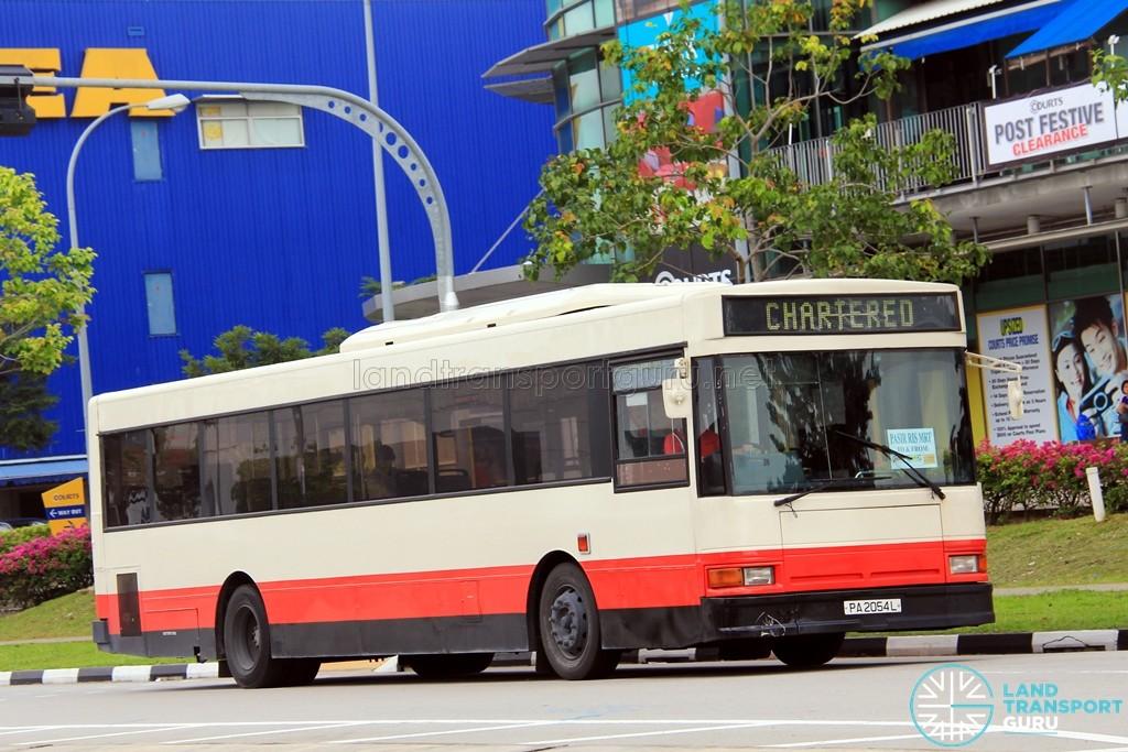 Bus Plus Dennis Lance 245 (PA2054L) - Tampines Retail Park Shuttle (Pasir Ris)