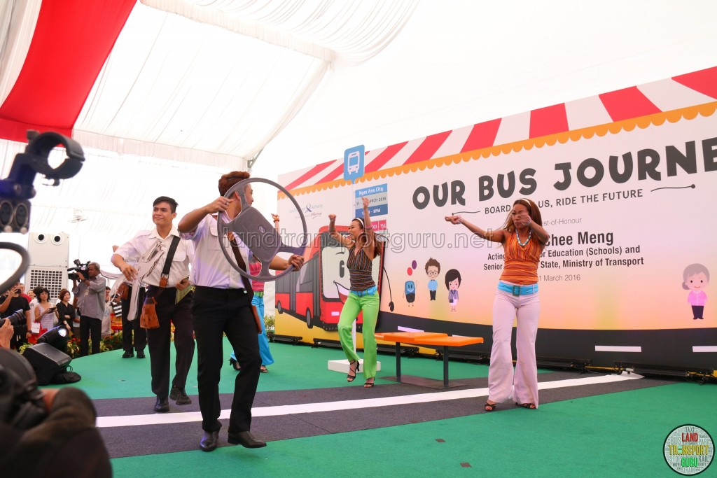 LTA Our Bus Journey Carnival - Ngee Ann City - Opening Ceremony Performances