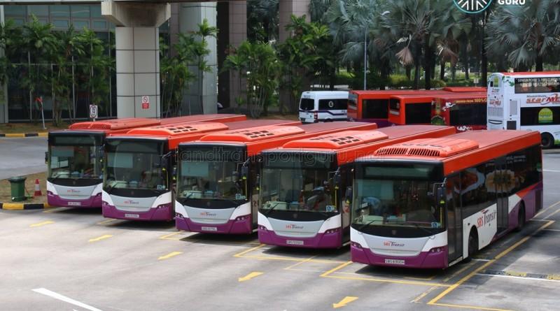 SBS Transit Scania K230UB Citybuses