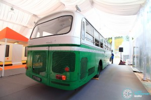 Restored Singapore Traction Company Bus - 1967 Nissan RX102K3 (STC609) - Rear offside
