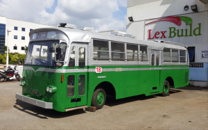 STC609 Restoration by Lexbuild - Completed bus