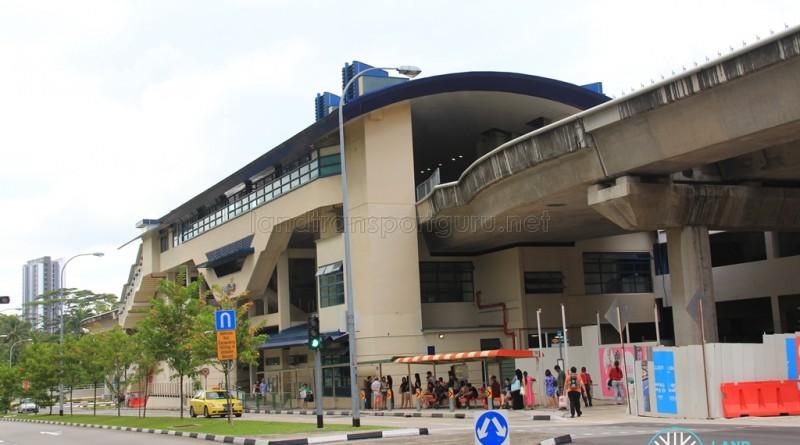 Bukit Panjang LRT Station - Exterior view